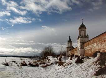 Зима. Спасо - Иаковлевский монастырь