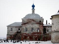 Введенский храм 1651г Богоявленсий Авраамиев монастырь
