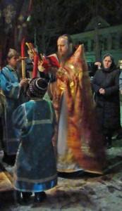 Отец Димитрий, Храм Покрова Пресвятой Богородицы, Пасха 19/04/2009