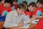 Пишут эссе. Матвеев Алексей, Дементьев Александр, Красов Василий