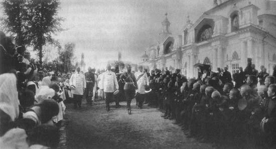 Император Николай Александрович в Спасо-Яковлевском Димитриевом монастыре