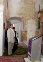 С. Н. Бабурин в Ростове-Великом на освящении Спасо-Преображенского храма