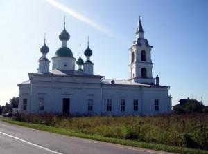 Храм в честь святого мученика Андрея Стратилата. Сулость.