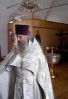 отец Сергий настоятель храма Ильи Пророка с. Васильково