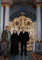 Работа по реставрации Царских врат завершена. Ростов-Великий 2009 г.