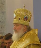 Патриарх в Ростове-Великом.