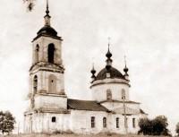Покровская церковь. Село Покровское