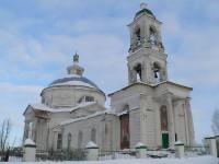 храм прп. Сергия Радонежского с. Татищев Погост
