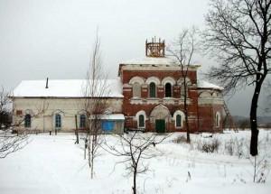 Богоявленская церковь село Красново
