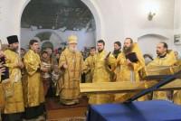 Литургия в Покровском храме, декабрь 2014 г.