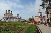 Освящение собора в Троице-Сергиевом Варницком монастыре