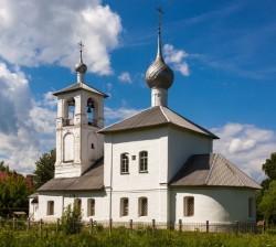 Храме в честь Толгской иконы Божией Матери города Ростова Великого