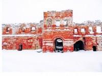 Руины Белогостицкого монастыря