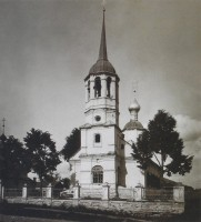 Церковь Бориса и Глеба. Фото начала XX в