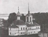 Вид с северо-востока на Стефановскую церковь Ростова Великого. Фото 1920 — 1930-х гг.