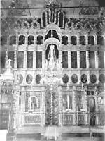 Главный иконостас Благовещенской церкви в г. Ростове. Фото начала XX в.