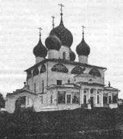 Собора Петра и Павла Петровского монастыря, фото начала XX в.